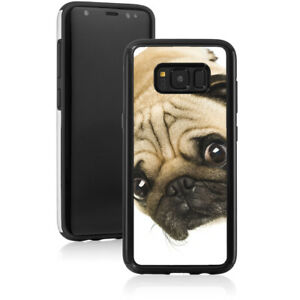 For Samsung Galaxy S9 S10 S20 Note 8 9 10 Shockproof Hard Case 898 Close Up Pug
