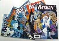 DC Comics BATMAN (1990-91) #455 456 457 458 459 Copper Age LOT Ships FREE!