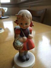 Vintage Hummel Figurine - School Girl - Tmk3 -