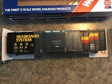 Weaver,  Seaboard 50 ft. Outside Braced Boxcar,  O Scale,  2 Rail, New in Box