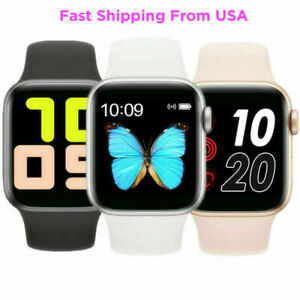 2020 Touch Smart Watch Women Men Heart Rate For iPhone Android IOS Waterproof