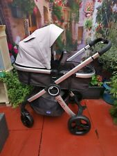 CHICCO URBAN pram Pushchair, 2 Way Facing, Carrycot Seat Leicester