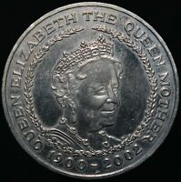 2002 | Elizabeth II 'Queen Mother' Five Pounds Coin | Cupro-Nickel | KM Coins
