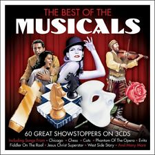 The Best Of The Musicals - 60 Great Showstoppers 3CD NEW/SEALED