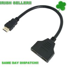 HDMI Splitter Male to Female 1 In 2 Out Splitter Cable 1080P Adapter