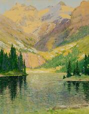 Adams Charles Lake O'Hara British Columbia Canvas 16 x 20  #5672