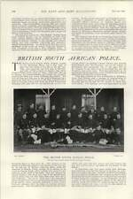 1902 British South African Police Bulawayo Division