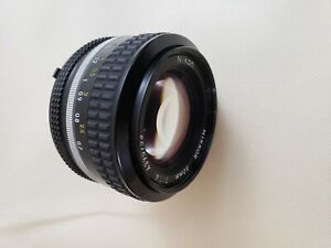 Nikon Nikkor 50mm f/1.4 AI Prime lens - Excellent to mint condition