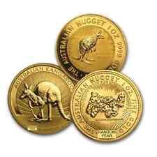 Australia 1 oz Gold Kangaroo/Nugget BU (Random Year) -SKU #168042