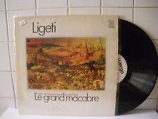 Gyorgy Ligeti Le grand macabre 1980  LP 33 Giri (BX48)