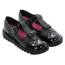 Kickers Leather Upper Shoes for Girls