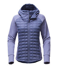 THE North Face Women's Endeavour Thermoball giacca con cappuccio ibrido Fjord Blue M