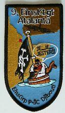 Bundeswehr Aufnäher Patch 9. EinsKtgt ATALANTA EinsGrp P-3C Djibouti ......A5471