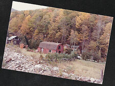 Vintage Photograph Gorgeous Farmhouse & Barn in Country Setting