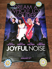 JOYFUL NOISE 27X40 DS MOVIE POSTER ONE SHEET NEW AUTHENTIC