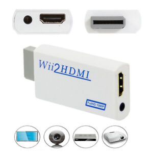 HD Wii To HDMI 1080P/720P Upscaling Converter Adapter Connector With*ws