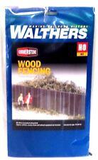 HO Scale Walthers Cornerstone 933-3521 Wood Fence Kit
