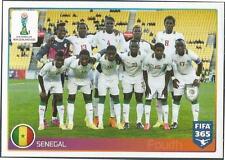 PANINI-2016 FIFA 365- #047-U20 WORLD CUP-SENEGAL TEAM PHOTO