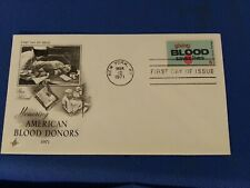 Scott #1425 6 Cent Stamp Honoring American Blood Donors First Day Issue