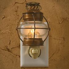 Sea Lantern Bubble Glass Night Light Wall Plug In Park Designs Home Room Decor