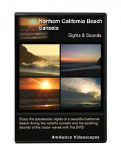 Romantic beach sunsets DVD video - California - Relaxation ambiance, waves -