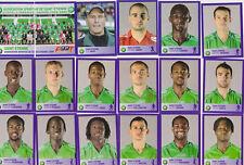 PANINI FOOTBALL 2006 SAINT ETIENNE LOT DE 18 IMAGES