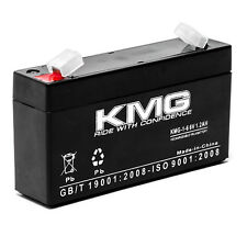 6V 1.2Ah F1 / F2 Sealed Lead Acid KMG-1-6 Battery For NUCLEAR ASSOCIATES 5441