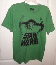 Brand New Men's Star Wars TIE Interceptor Green Short Sleeve T-Shirt size M