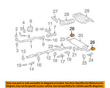 Exhaust Intermediate Pipe Walker 52580 fits 09-15 Toyota Venza