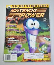 "Nintendo Power Volume 118 ""Tonic Trouble"" W/Poster and Pokemon Tading Card"