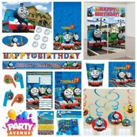 Thomas And Friends Party Tableware Decorations Balloons Favours