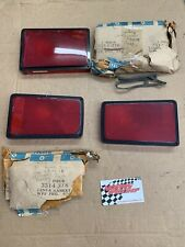 Mopar 1971 B Body Charger SuperBee SE NOS Tail Lights  New Old Stock   3 Pieces