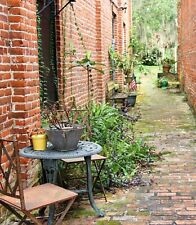 Cute Decorated Alley in Florida Photo Art Wall Decor Family Room Den Kitchen