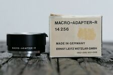 Leitz Leica Macro-Adapter-R 14256 schwarz Made in Germany - Leica Store Nürnberg