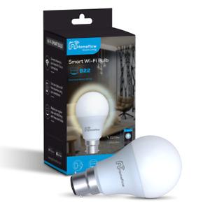 E27 E14 B22 GU10 Wi-Fi Smart LED Light Bulb Voice Assistant Alexa Google Home