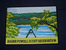 Baden-Powell Scout Reservation jacket patch   cjp  ms3