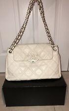 Chanel Sac Rabat Satchel Bag - Ivory, Barely Worn