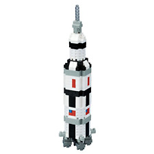 nanoblock NAN-NBH130 Moon Rocket 3D Puzzle