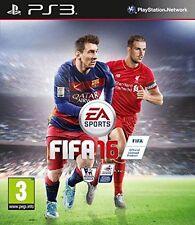 PS3 FIFA 16 PS3 GIOCO Nuovo di zecca Uk - 1st Class RAPIDO E GRATUITO consegna