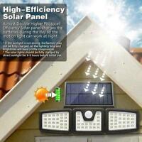 2020 LED Solar Light PIR Motion Sensor Security Flood Light Outdoor Garden Lamp