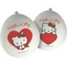 Hello Kitty Sweetheart Party - 12 Latex Balloons  - Birthday - FREE POSTAGE UK