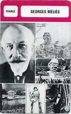 Fiche Monsieur cinéma. Georges Méliès. France