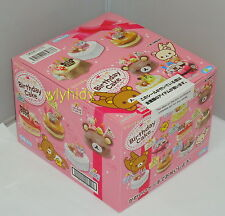 Miniatures San-X  Rilakkuma Birthday Cake Box Set - Re-ment    ^_^1