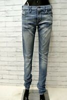 Jeans ENERGIE  Donna Taglia Size 29 Pantalone Pants Cotone Woman Blu Slim Skinny