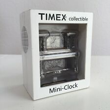 TIMEX NOVELTY COLLECTIBLE MINI QUARTZ PIANO CLOCK IN SEALED BOX