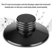 Aluminum Record Weight Clamp LP Vinyl Turntables Metal Disc Stabilizer Black