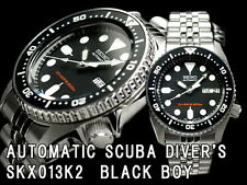 Seiko Herrenuhr SKX013K2 Automatic 200M Scuba Taucheruhr