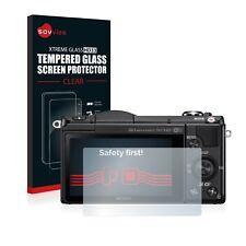 Protector Pantalla para Sony Alpha 5000 (DSLR-A5000) Cristal Templado Vidrio