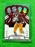 TYLER JOHNSON PRIZM ROOKIE CARD JERSEY #6 BUCCANEERS 2020 PANINI CROWN ROYALE RC