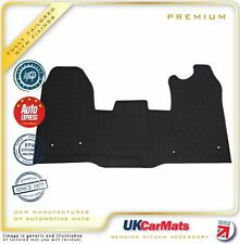 Connected Essentials Tailored Custom Fit Heavy Duty Automotive Carpet Boot Mat Boot Liner for Mondeo MK 4 2013-2015 Black with Red Trim